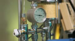 View of an intravenous drip Stock Footage