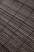 background - volumetric japanese reed mat - stock photo