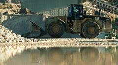 Quarry truck - stock footage