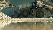 Stock Video Footage of Quarry truck