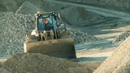 Quarry truck Stock Footage