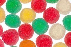 gelly sugar candy - stock photo