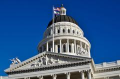 Stock Photo of california state capitol sacramento