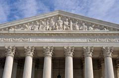 Supreme court of united states Stock Photos