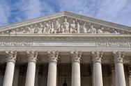Stock Photo of supreme court of united states