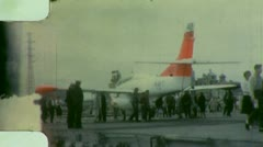 AIRCRAFT CARRIER Vietnam War Flight Deck 1970s Vintage Film Home Movie 3383 - stock footage