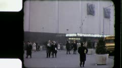 MADISON SQUARE GARDEN 1960s (Vintage Retro Film Home Movie) 3386 Stock Footage