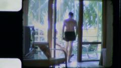 Florida loma Motel 1960 (vintage vanha filmi Home Movie) 3397 Arkistovideo