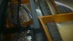 Grand piano music Stock Footage