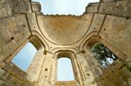 Old abbey ruins in france Stock Photos