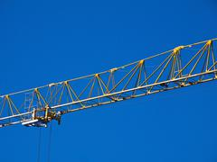 crane jib detail - stock photo