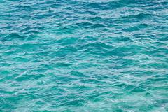 Turquoise sea background Stock Photos