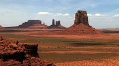 Monument Valley, Arizona, USA, T/Lapse Stock Footage