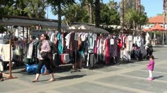 Second-hand sale Stock Footage