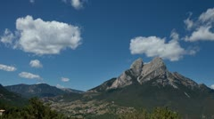 Timelapse pedraforca mountain  Stock Footage