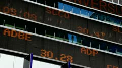 Stock Ticker - stock footage