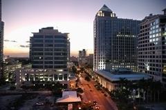 Fort Lauderdale at Dusk Kuvituskuvat