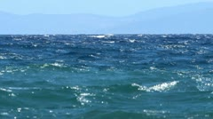 Blue waves Stock Footage