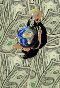 Stock Illustration of Greed II