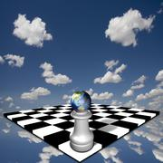 aussie pawn - stock illustration