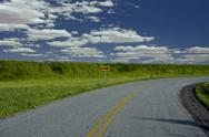 Stock Photo of Curving Road
