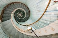 Stock Photo of high lighthouse stairs