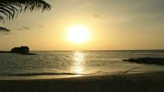Jamaica Sunset TimeLapse 1 Stock Footage