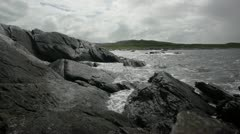 Rocky coasts of Norway Stock Footage