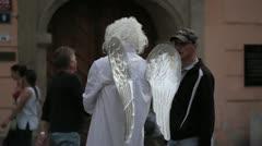 Fallen angel Stock Footage