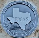 Stock Photo of Texas Historical Marker