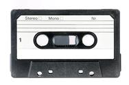 Vintage audio cassette Stock Photos