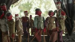 Indonesian Puppetry Stock Footage
