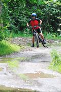 Stock Photo of mountain bike