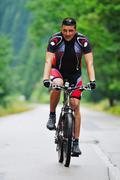 mountain bike - stock photo