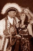 Stock Photo of retro couple