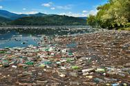 Stock Photo of nature pollution