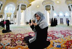 Stock Photo of sheikh zayed mosque