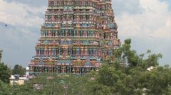 Sri Meenakshi temple exterior Stock Footage