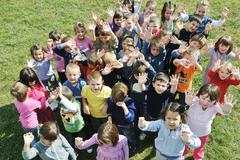 Stock Photo of preschool  kids