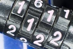Cipher - stock photo