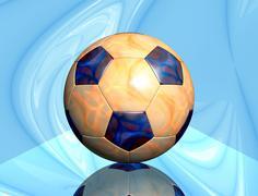 Soccer ball - stock illustration