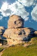 Stock Photo of Babele rock, Bucegi mountain Romania