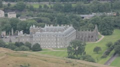 Holyrood House, Edinburgh (Royal residence) Stock Footage