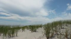 Sand Dunes Island Beach - stock footage