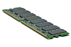 computer random access memory - stock photo