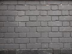 Stock Photo of black bricks