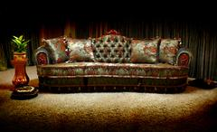 vintage sofa - stock photo