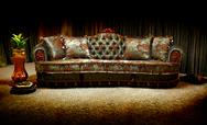Vintage sofa Stock Photos