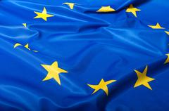 flag of european union - stock photo