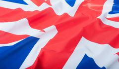 National flag of great britain Stock Photos